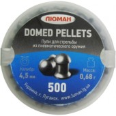 Пули 4,5 Люман Domed Pellets 0.68г(500шт)